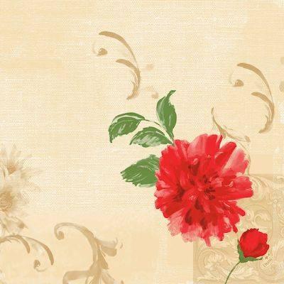 Image of   Middagsserviet, Dunilin Marit, 0,4x0,4cm, flerfarvet *Denne vare tages ikke retur*
