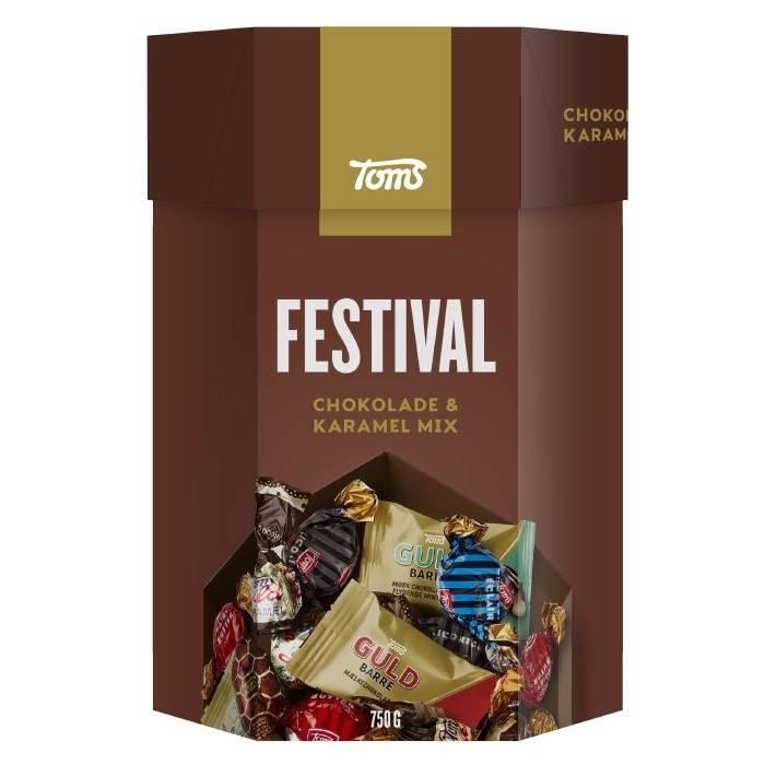 Image of   Chokolade, Toms, festivalblanding
