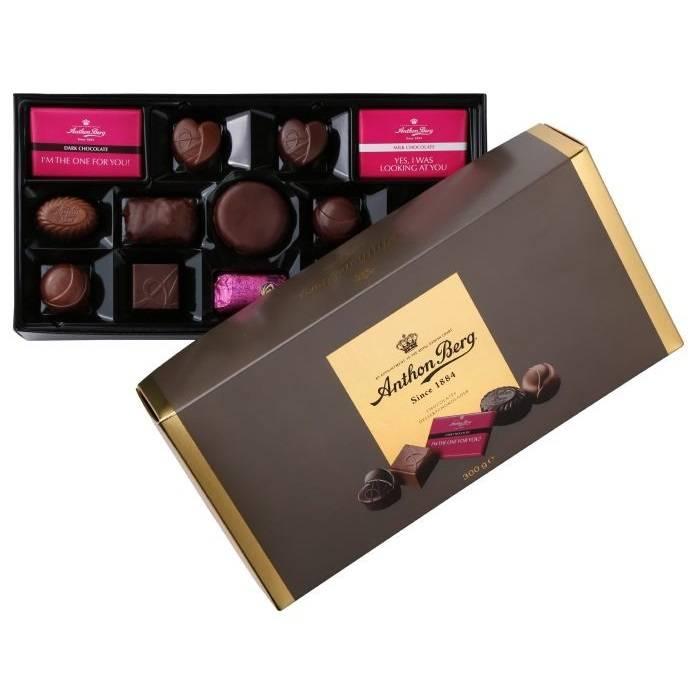 Image of   Chokolade, Anthon Berg Favourites