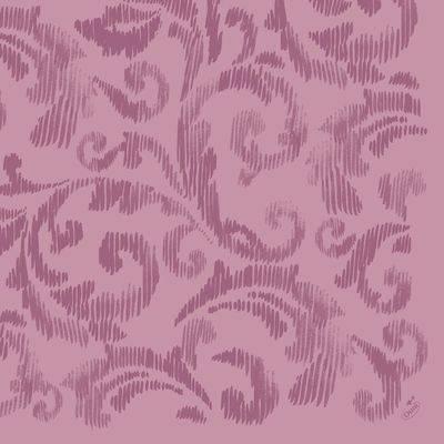 Image of   Middagsserviet, Dunilin Saphira, 1/4 fold, 40x40cm, violet *Denne vare tages ikke retur*