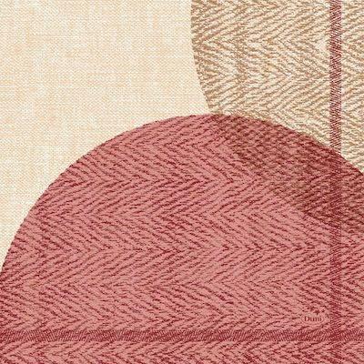 Image of   Frokostserviet, Duni Gravito, 3-lags, 1/4 fold, 33x33cm, vinrød *Denne vare tages ikke retur*
