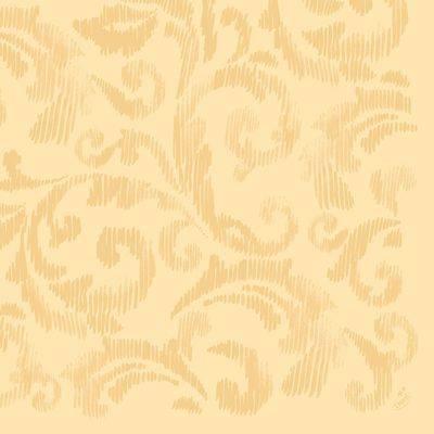 Image of   Middagsserviet, Dunilin Saphira, 1/4 fold, 40x40cm, buttermilk *Denne vare tages ikke retur*