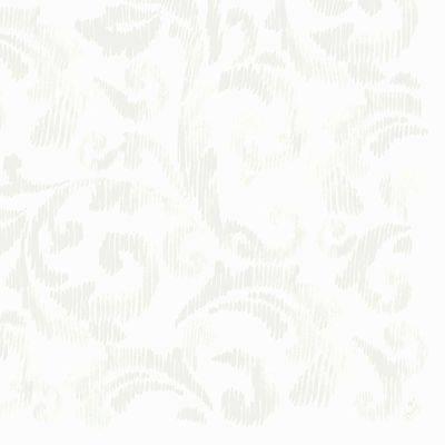 Image of   Middagsserviet, Dunilin Saphira, 1/4 fold, 40x40cm, hvid *Denne vare tages ikke retur*