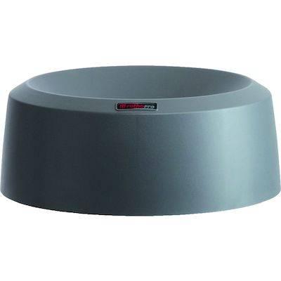 Image of   Låg, Rotho Mode, 15cm, Ø38cm, mørkegrå, med høj kant *Denne vare tages ikke retur*