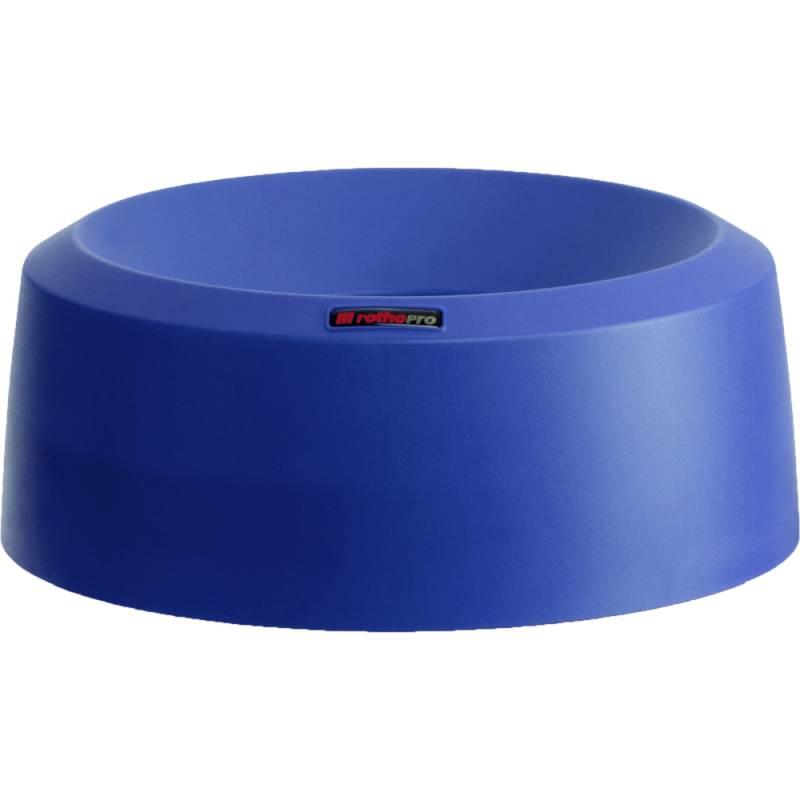 Image of   Låg, Rotho Mode, 15cm, Ø38cm, mørkeblå, med høj kant *Denne vare tages ikke retur*