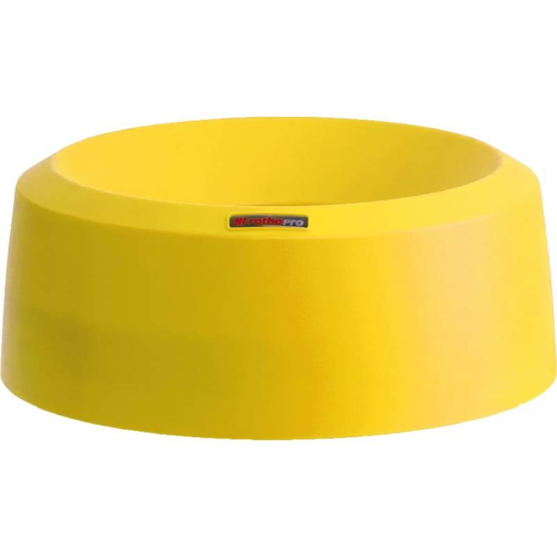Image of   Låg, Rotho Mode, 15cm, Ø38cm, gul, med høj kant *Denne vare tages ikke retur*