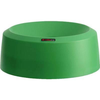 Image of   Låg, Rotho Mode, 15cm, Ø38cm, grøn, med høj kant *Denne vare tages ikke retur*