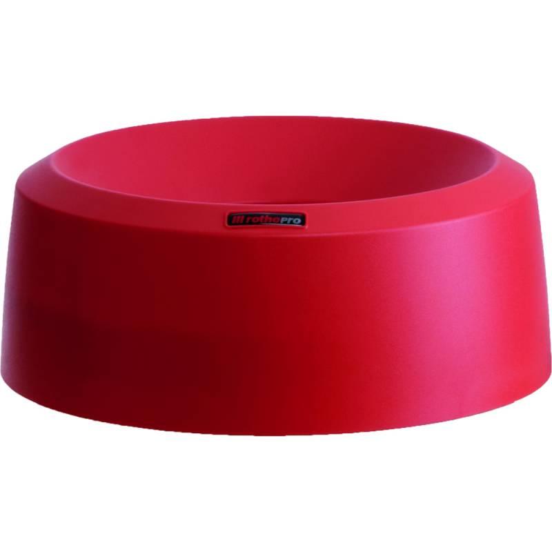 Image of   Låg, Rotho Mode, 15cm, Ø38cm, rød, med høj kant *Denne vare tages ikke retur*