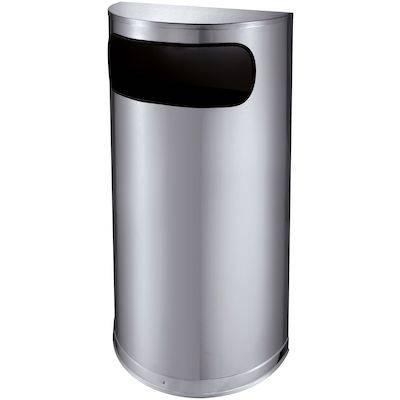 Image of   Affaldsspand, 225x450x820mm, grå, 1-rums, 35 l, Inderspand af plast