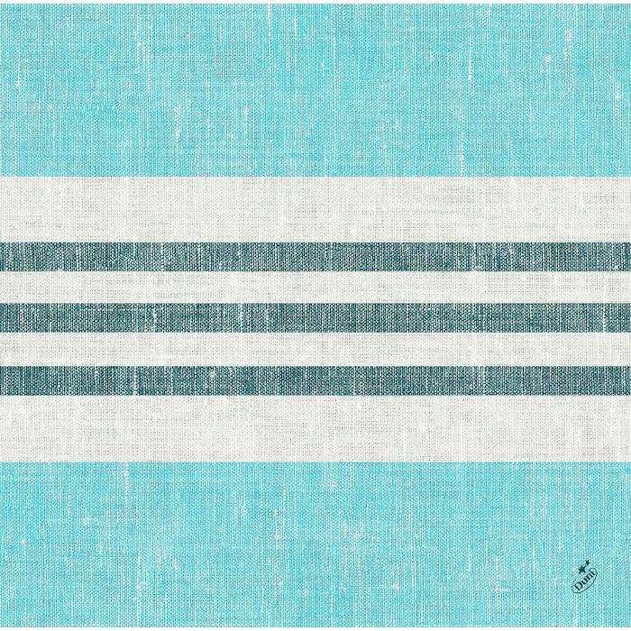 Image of   Middagsserviet, Dunisoft Raya, 1/4 fold, 40x40cm, blå *Denne vare tages ikke retur*