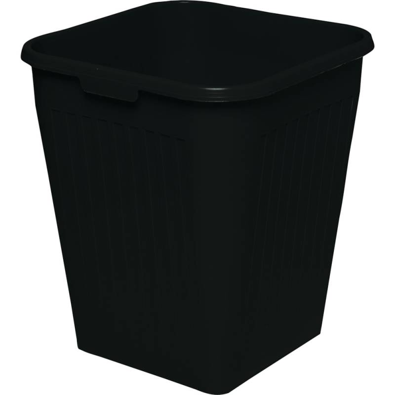 Image of   Papirkurv, Bantex, 25 l, sort