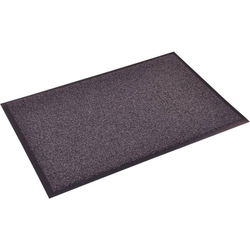 Image of   Tekstilmåtte, 250x135cm, grå, PA/vinyl, absorbering +- 5,2 l/m2
