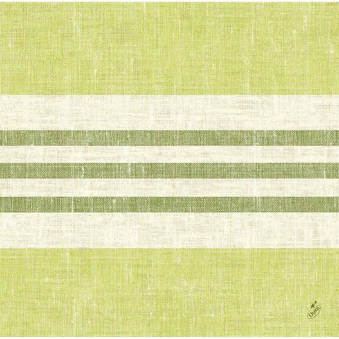 Image of   Middagsserviet, Dunisoft Raya, 1/4 fold, 40x40cm, kiwi *Denne vare tages ikke retur*
