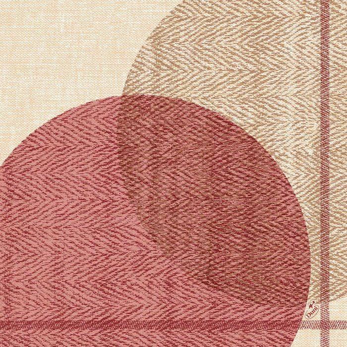 Image of   Middagsserviet, Dunisoft Gravito, 1/4 fold, 40x40cm, bordeaux *Denne vare tages ikke retur*