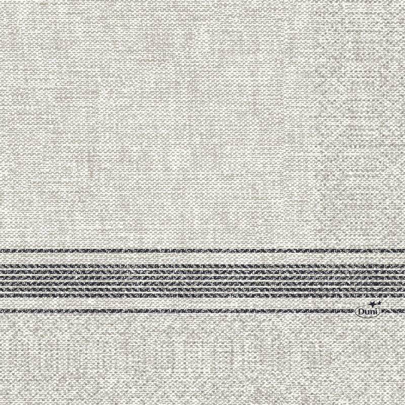 Image of   Frokostserviet, Duni Cocina, 3-lags, 1/8 fold, 33x33cm, sort *Denne vare tages ikke retur*