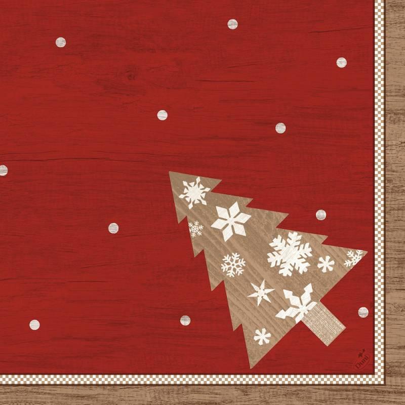Image of   Middagsserviet, Dunisoft, 1/4 fold, 40x40cm, rød, Alps *Denne vare tages ikke retur*
