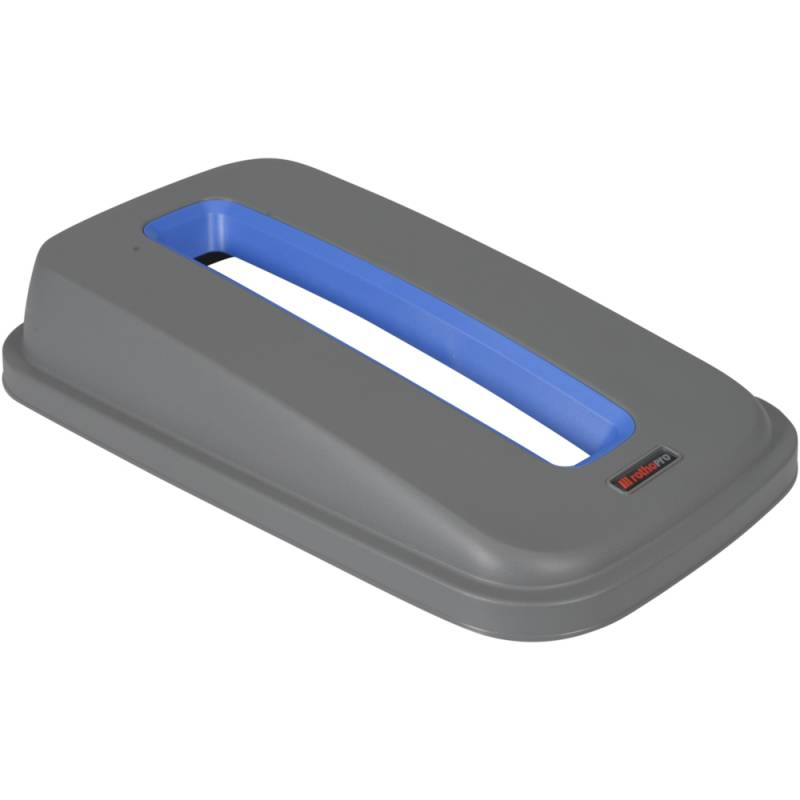 Image of   Låg, Rotho Selecto, 49x29x9cm, grå, blå til papir