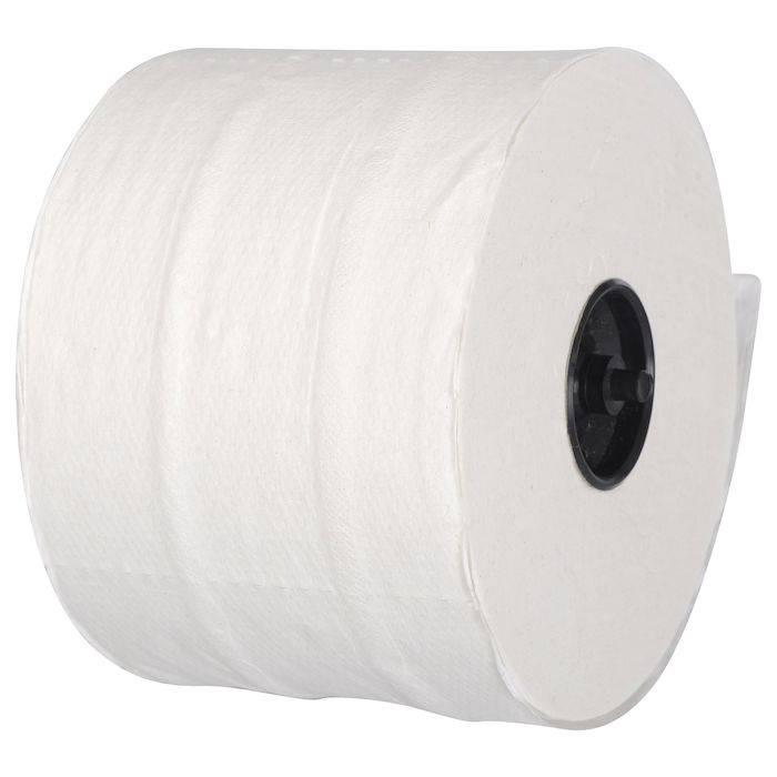 Image of   Toiletpapir, neutral, 2-lags, 100m x 9,8cm, Ø13,4cm, hvid, 100% nyfiber