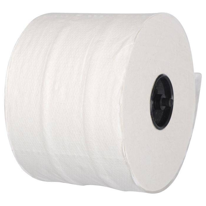 Image of   Toiletpapir, neutral, 2-lags, 100m x 9,8cm, Ø13,4cm, hvid, blandingsfibre