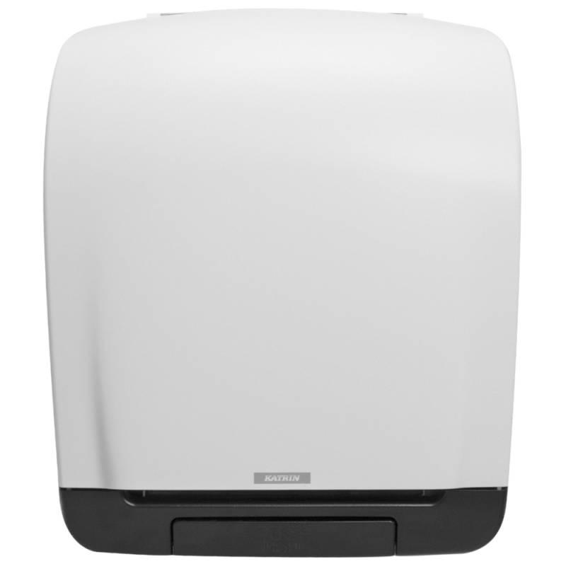 Image of   Dispenser, Katrin, 21,6x33,5x40,3cm, hvid, plast, til håndklæderuller