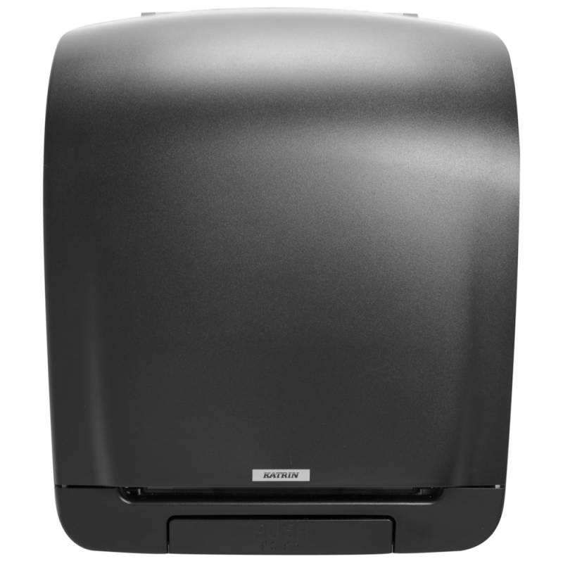 Image of   Dispenser, Katrin, 21,6x33,5x40,3cm, sort, plast, til håndklæderuller