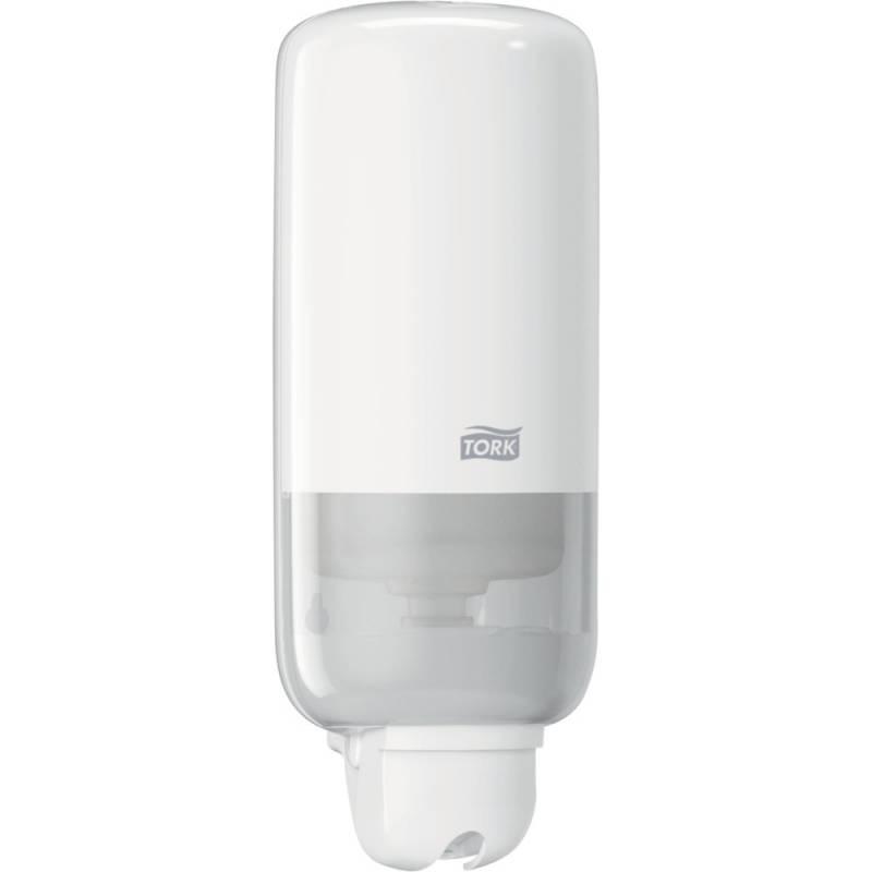 Billede af Dispenser, Tork S1, 11,4x11,2x29,6cm, 1000 ml, hvid, plast, til refill