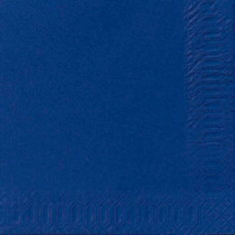 Frokostserviet, Duni, 3-lags, 1/4 fold, 33x33cm, mørkeblå, papir *Denne vare tages ikke retur*