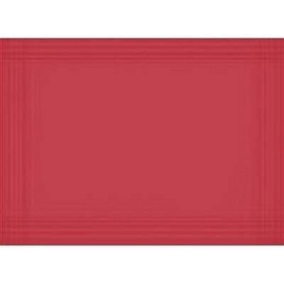 Image of   Dækkeserviet, Dunicel Maitre, 40x30cm, rød *Denne vare tages ikke retur*