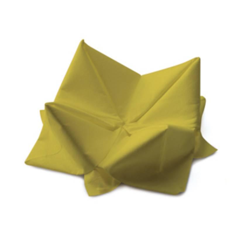 Image of   Frokostserviet, Duni, 3-lags, 1/4 fold, 33x33cm, kiwi, papir *Denne vare tages ikke retur*