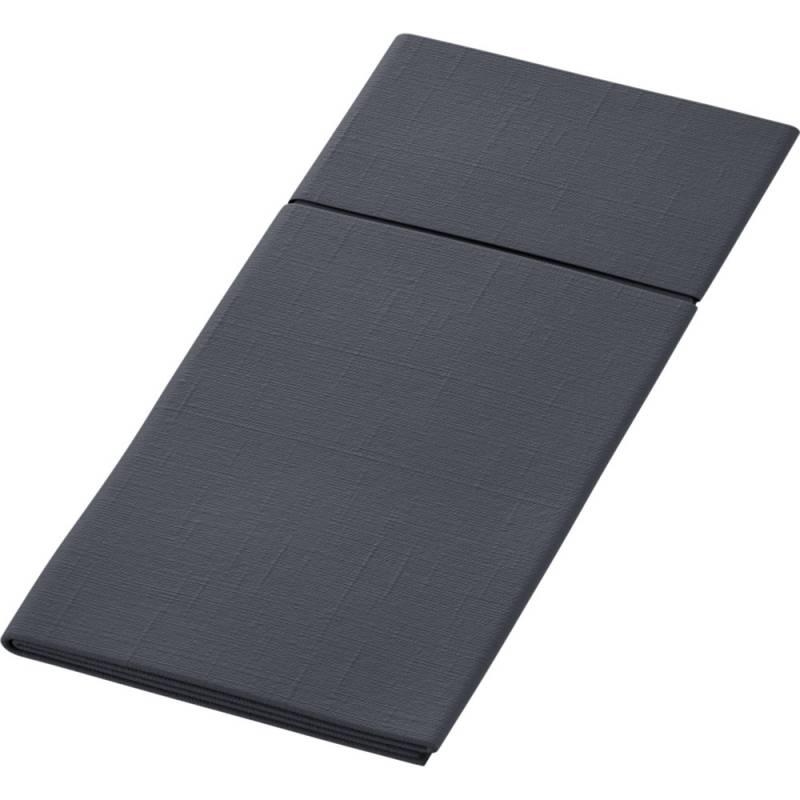 Bestikserviet, Duniletto Slim , 1/8 fold, 33x40cm, sort *Denne vare tages ikke retur*