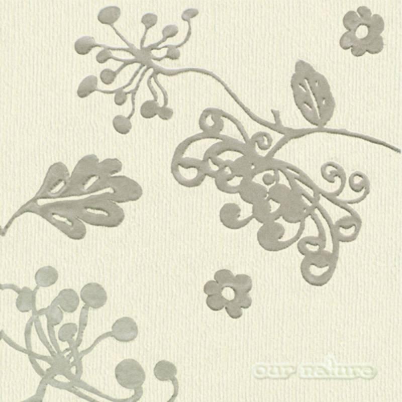 Image of   Frokostserviet, Leinen, 3-lags, 1/4 fold, 33x33cm, flerfarvet, 100% nyfiber