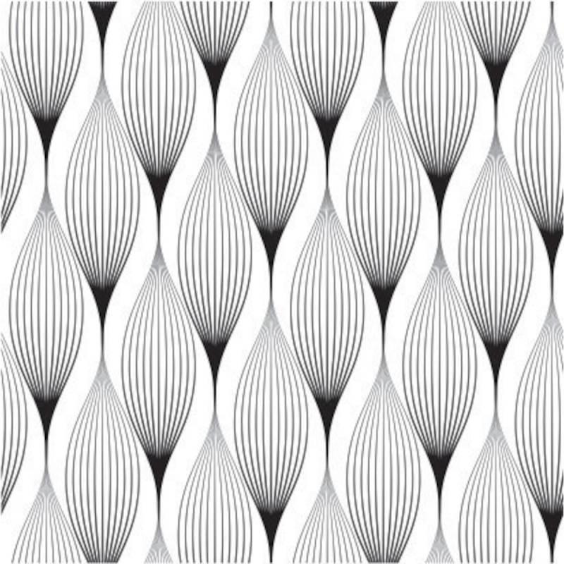 Image of   Frokostserviet, 3-lags, 1/4 fold, 33x33cm, flerfarvet, 100% nyfiber