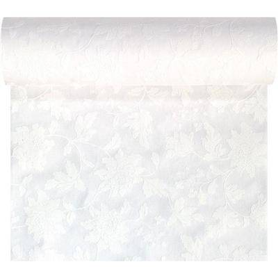 Image of   Kuvertløber, Dunicel Sensia, 2400x40cm, hvid, 3D, perforeret for hver 1,2 m *Denne vare tages ikke retur*