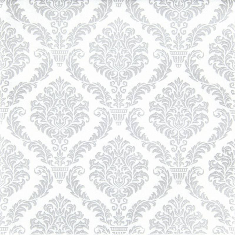 Image of   Middagsserviet, Elegant, 1/4 fold, 40x40cm, sølv, airlaid