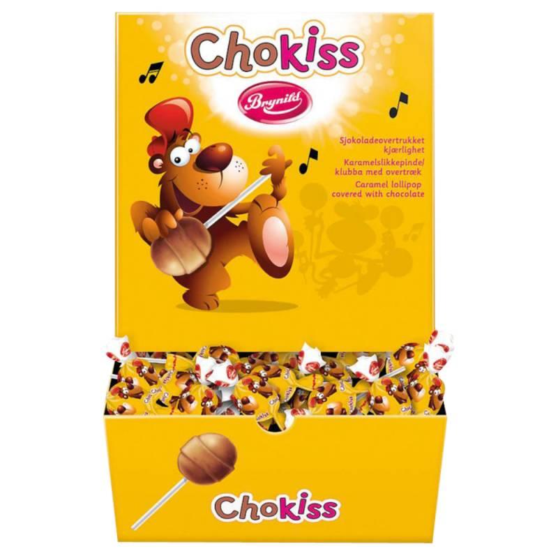 Image of   Slikkepind, Choko-Kiss *Denne vare tages ikke retur*