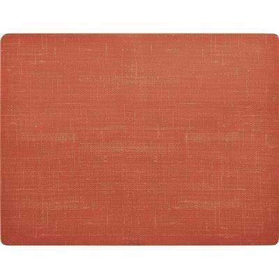 Image of   Dækkeserviet, Dunicel Farah, 45x35cm, mandarin *Denne vare tages ikke retur*