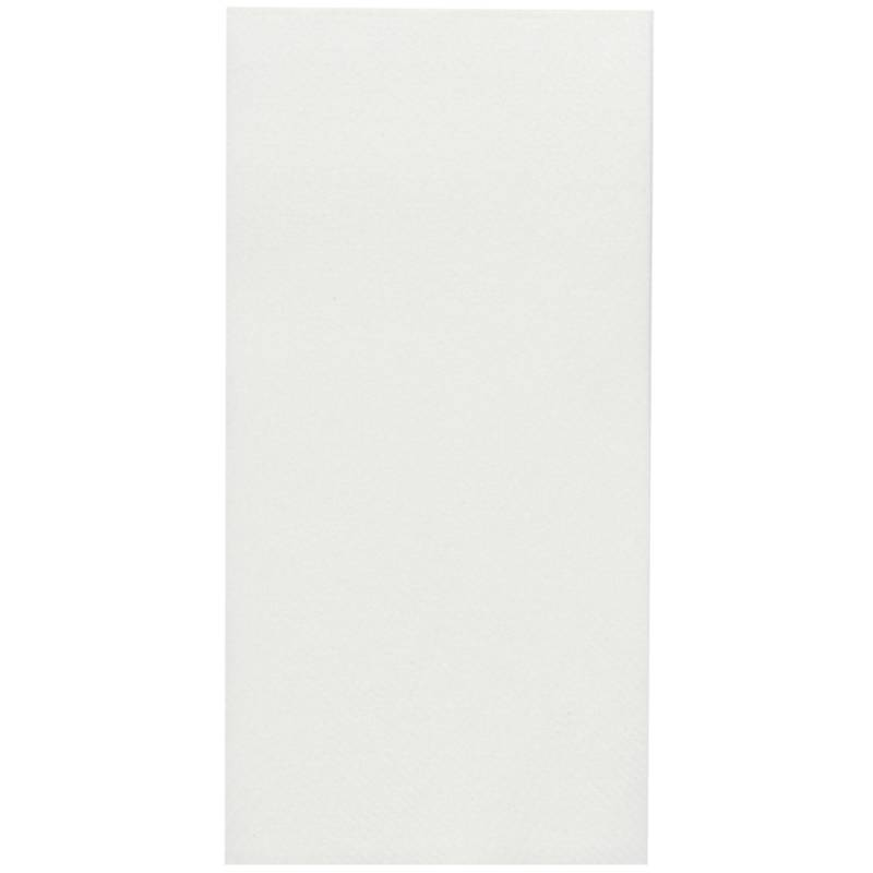 Image of   Middagsserviet, Abena Gastro-Line, 1/8 fold, 40x40cm, hvid, airlaid