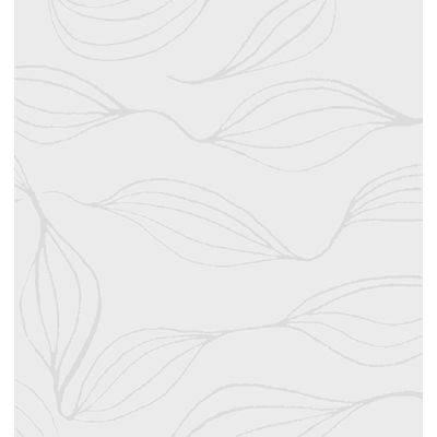 Stikdug, Silk, 84x84cm, hvid, papir, lamineret