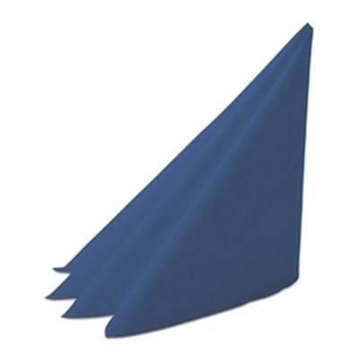 Image of   Middagsserviet, Dunilin, 1/4 fold, 48x48cm, mørkeblå *Denne vare tages ikke retur*