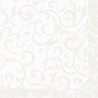 Image of   Middagsserviet, Dunilin Sarala, 1/4 fold, 48x48cm, hvid *Denne vare tages ikke retur*