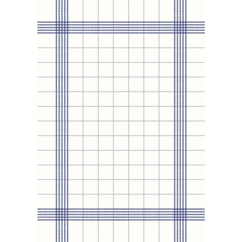 Image of   Middagsserviet, Towel, 54x38cm, blå, ternet *Denne vare tages ikke retur*