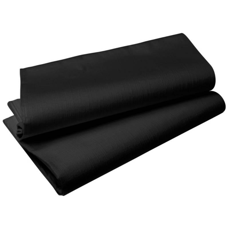 Image of   Borddug, Duni Evolin, 220x127cm, sort *Denne vare tages ikke retur*