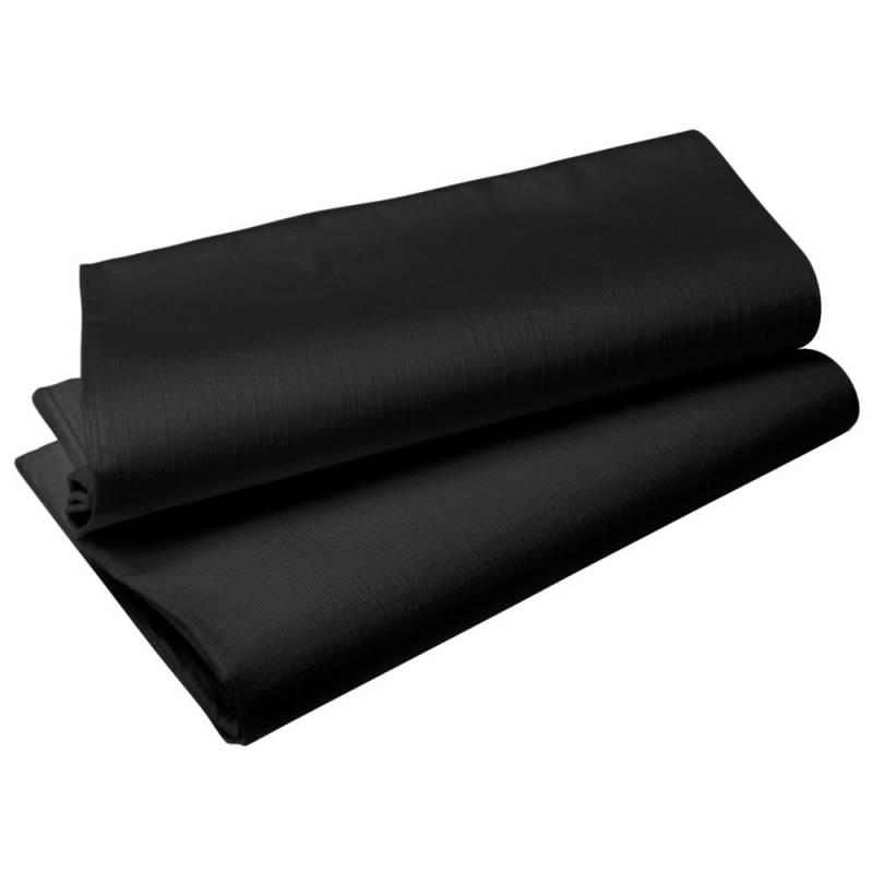 Image of   Borddug, Duni Evolin, 127x127cm, sort *Denne vare tages ikke retur*