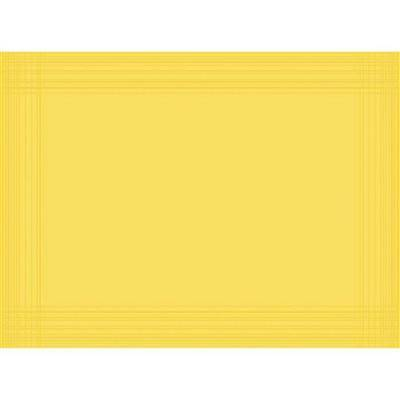 Image of   Dækkeserviet, Dunicel Maitre, 40x30cm, gul *Denne vare tages ikke retur*