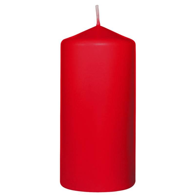 Image of   Bloklys, Duni, 13cm, Ø6cm, rød, 40 timer *Denne vare tages ikke retur*