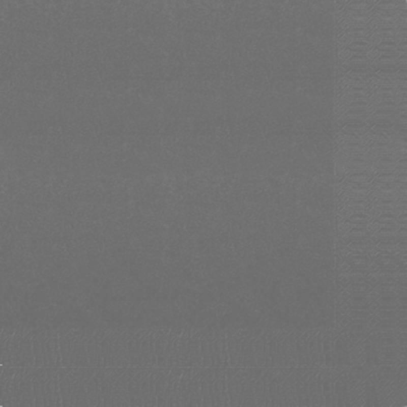 Image of   Frokostserviet, Duni, 3-lags, 1/4 fold, 33x33cm, granitgrå, papir *Denne vare tages ikke retur*