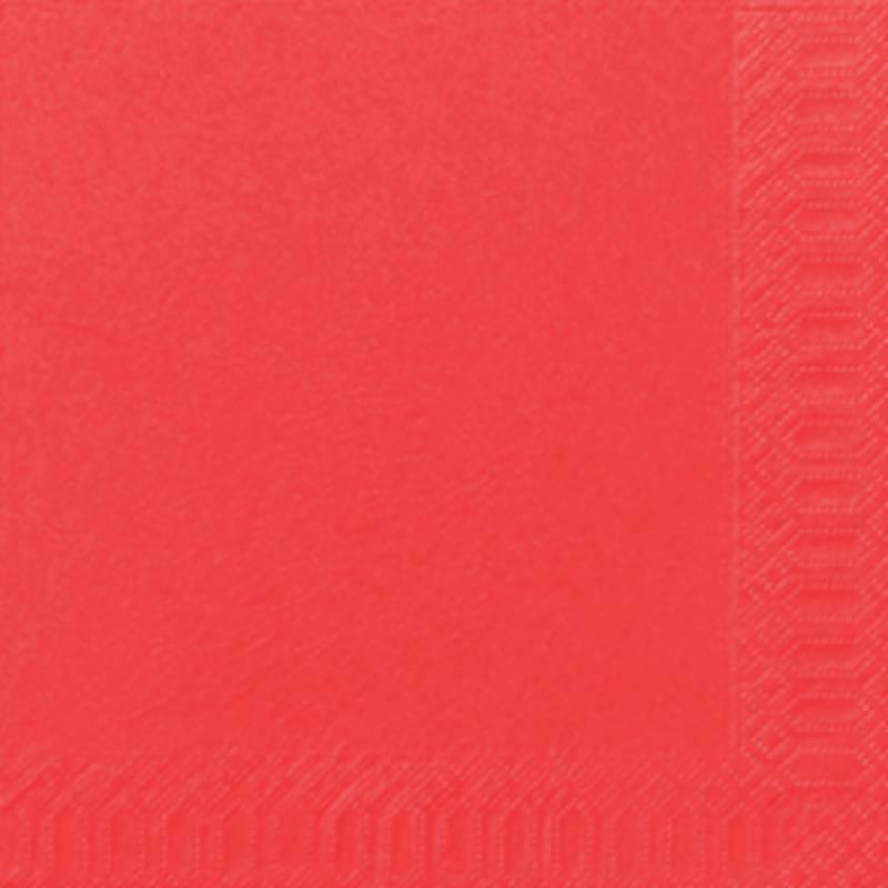 Image of   Frokostserviet, Duni, 3-lags, 1/4 fold, 33x33cm, mandarin, papir *Denne vare tages ikke retur*