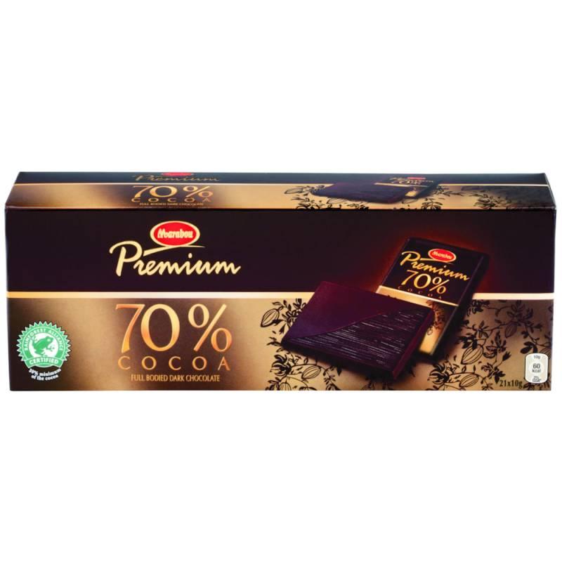Image of   Chokolade, Marabou Premium Dark, gaveæske, 21 stk. *Denne vare tages ikke retur*