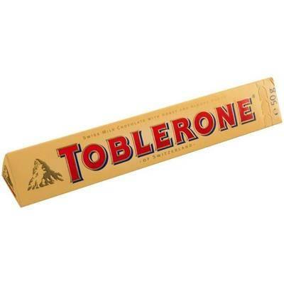 Image of   Chokolade, Toblerone *Denne vare tages ikke retur*