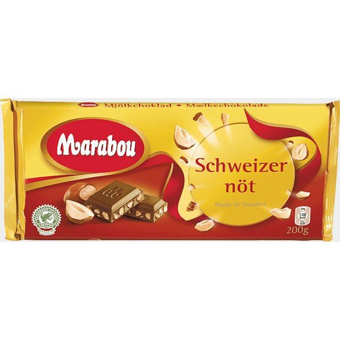 Billede af Chokolade, Marabou Schweizernød *Denne vare tages ikke retur*